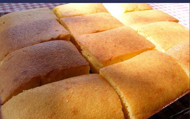 Süt Alerjisi Bebekler için Sütsüz Mermer Kek